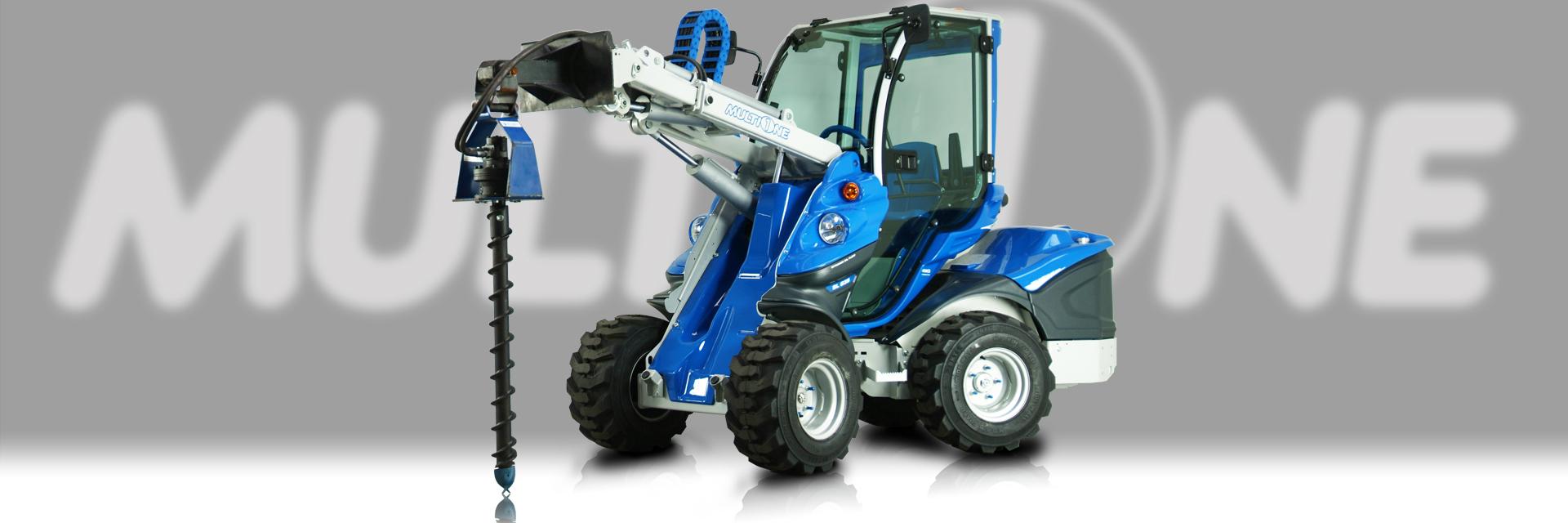 Multione-mini-excavator-auger-attachment