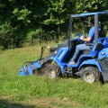 -flail-mower for mini excavator