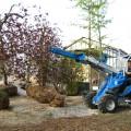 Jib crane for mini loader MultiOne 03