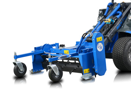 Multione-power-rake-for mini loader