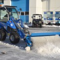 Multione-rotary-broom for mini excavator