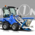 Multione-salt-and-sand-spreder for mini excavator