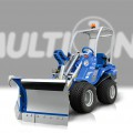Multione-snow-plow for mini excavator