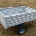 Multione-trailer for mini loader