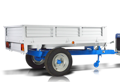 Multione-trailer_for mini loader