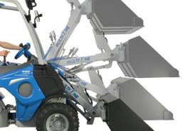 mini excavator-Self-levelling-H-frame-boom