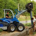 MultiOne Mini loader GT950 with mixing bucket