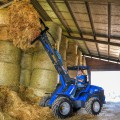 MultiOne mini loader 10 series with manure fork