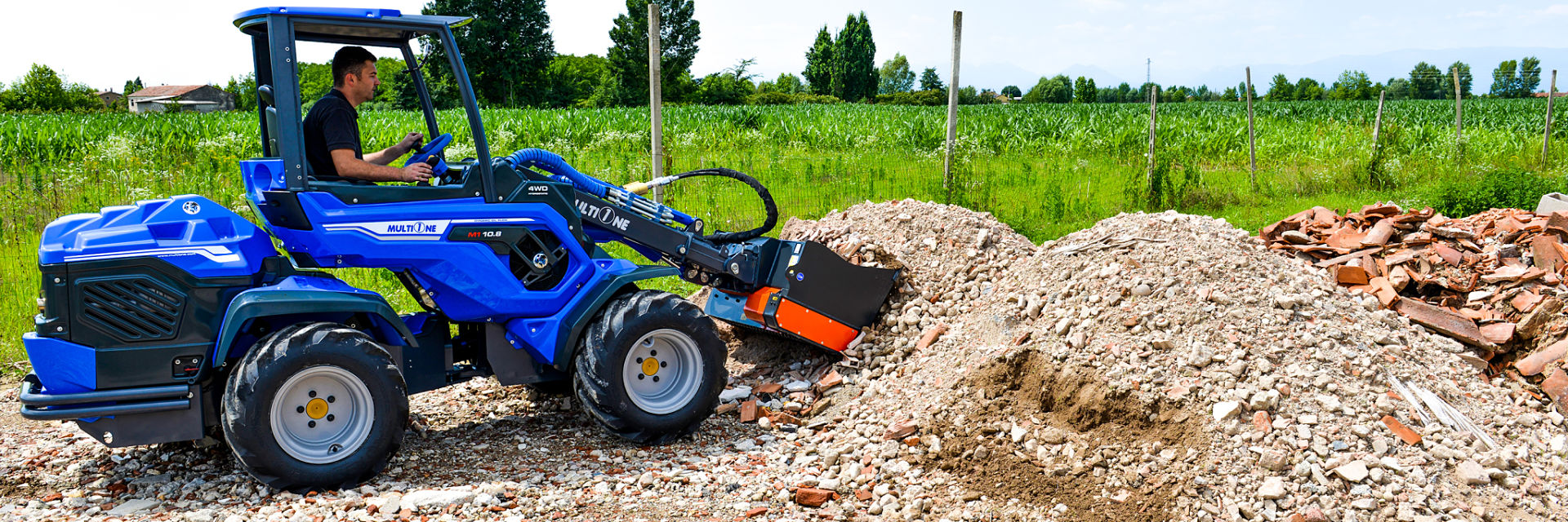 10 Series Multione Compact Mini Wheel Loader