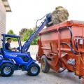 MultiOne mini loader 8 series with pallet fork