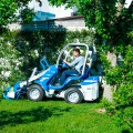 MultiOne mini loader S630 with lawn mower