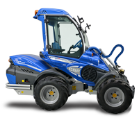 High Geared Articulated Mini Loader