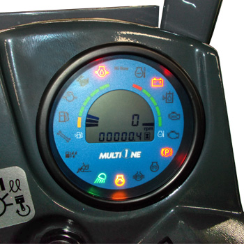 Multione mini loader LCD-graphic-display