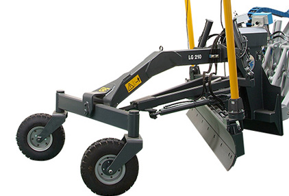 Multione-grader-header-for mini loader