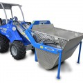Multione-tipping-dumper for mini loaders
