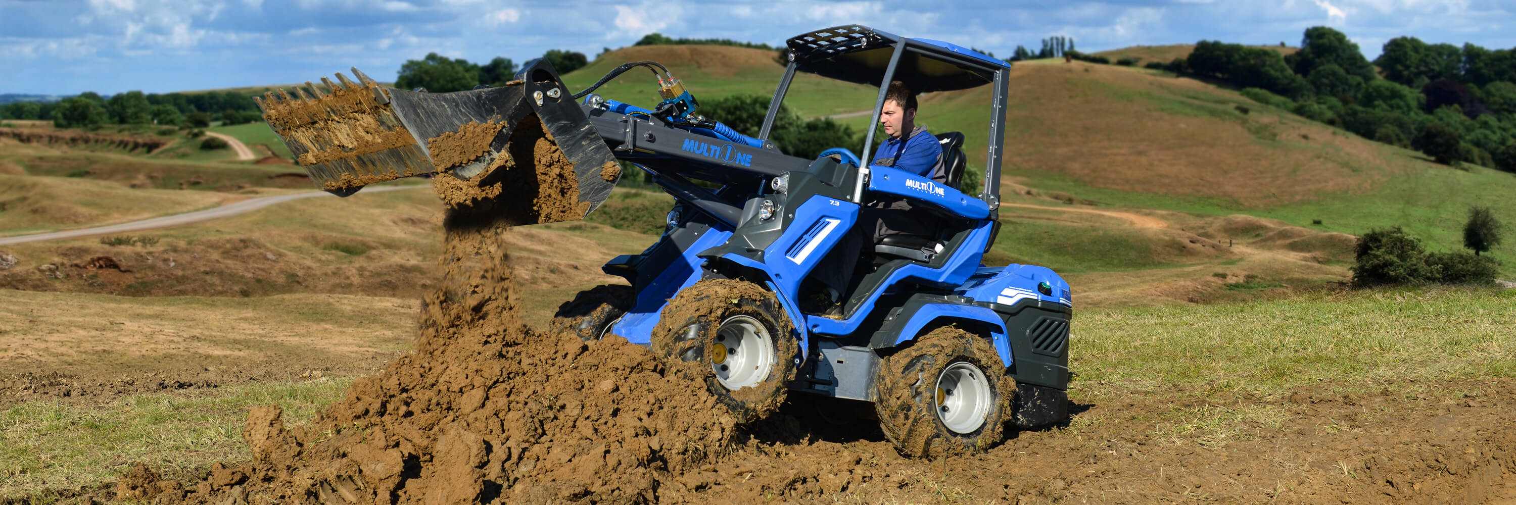 Articulated Compact Mini Wheel Loader