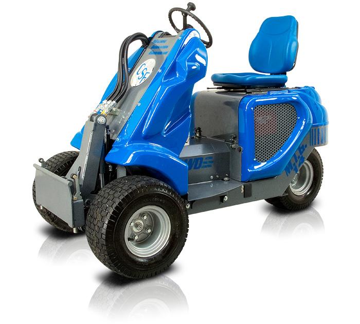 3wd mini loader