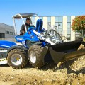 MultiOne Mini loader GT950 with multipurpose bucket