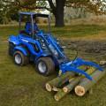 MultiOne mini loader 7 series with log grabber