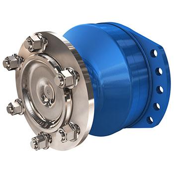 Radial piston wheel motor