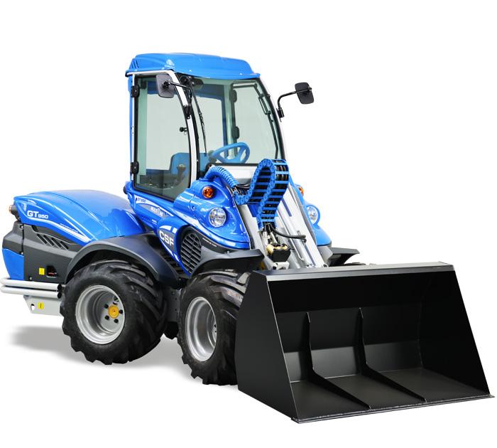 high geared mini loader