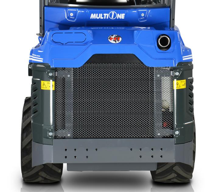 Multione mini articulated loader-rear